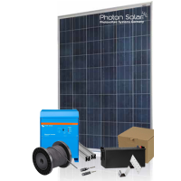 PHOTON SOLAR – 3KWp (4,8KWh+) PV OFF-GRID Package(24V System)